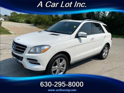 2014 Mercedes-Benz M-Class for sale at A Car Lot Inc. in Addison IL
