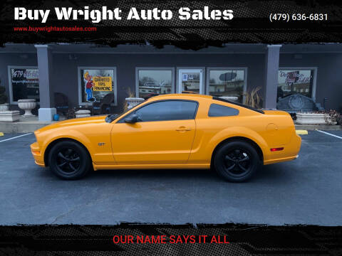2007 Ford Mustang for sale at Buy Wright Auto Sales in Rogers AR
