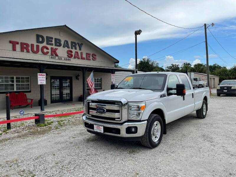 2015 Ford F-250 XLT for sale at DEBARY TRUCK SALES in Sanford FL