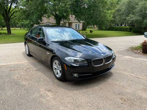2012 BMW 5 Series for sale at CARWIN MOTORS in Katy TX