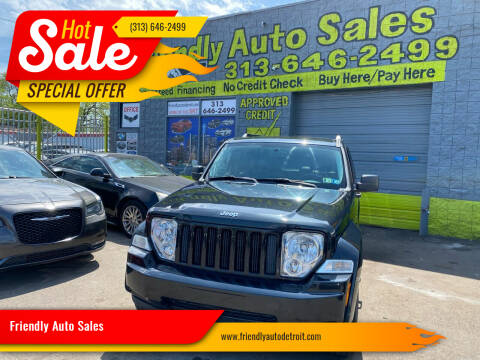2012 Jeep Liberty for sale at Friendly Auto Sales in Detroit MI
