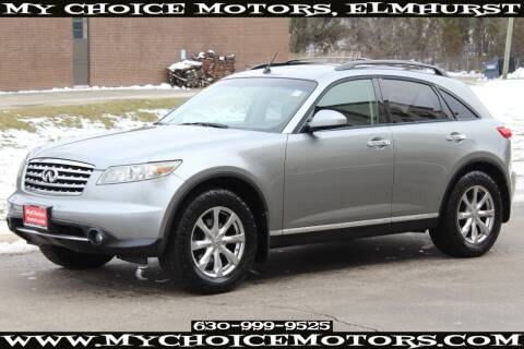 2008 Infiniti FX35 for sale at Your Choice Autos - My Choice Motors in Elmhurst IL