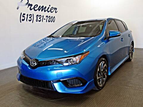 2016 Scion iM for sale at Premier Automotive Group in Milford OH