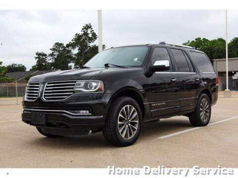 2015 Lincoln Navigator for sale at JEFF HAAS MAZDA in Houston TX