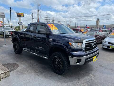 2012 Toyota Tundra for sale at Texas 1 Auto Finance in Kemah TX