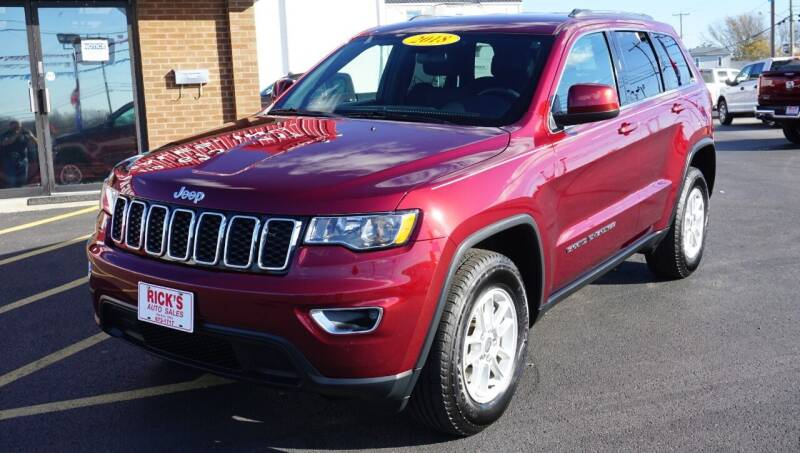 2018 Jeep Grand Cherokee for sale at Ricks Auto Sales, Inc. in Kenton OH