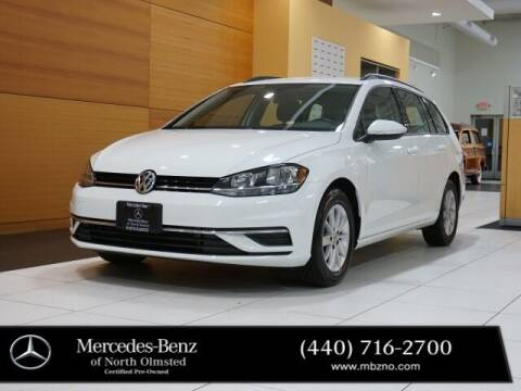 2019 Volkswagen Golf SportWagen for sale at Mercedes-Benz of North Olmsted in North Olmstead OH