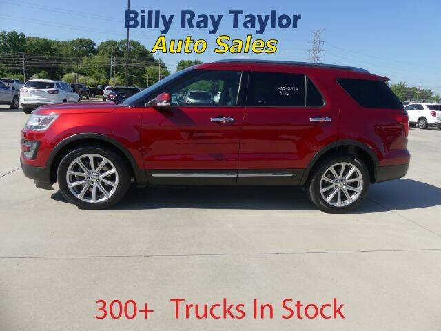 2016 Ford Explorer for sale at Billy Ray Taylor Auto Sales in Cullman AL
