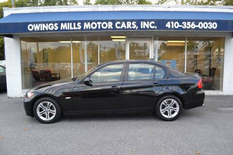 2008 BMW 3 Series for sale at Owings Mills Motor Cars in Owings Mills MD