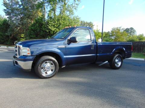 2007 Ford F-250 Super Duty for sale at CR Garland Auto Sales in Fredericksburg VA