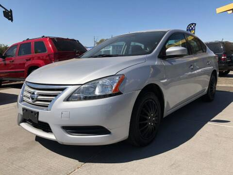 2015 Nissan Sentra for sale at DR Auto Sales in Glendale AZ