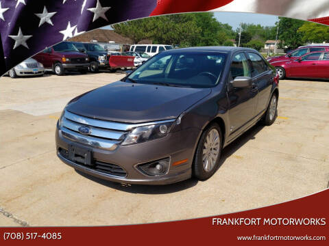 2010 Ford Fusion Hybrid for sale at Frankfort Motorworks in Frankfort IL