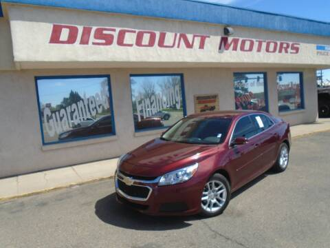 2016 Chevrolet Malibu Limited for sale at Discount Motors in Pueblo CO