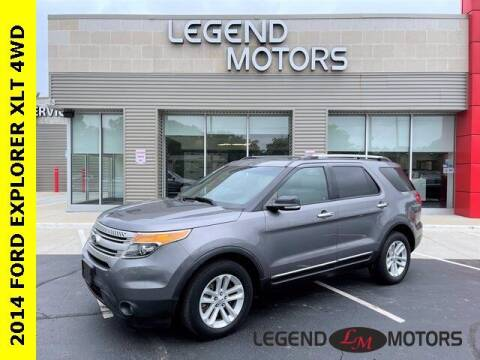 2014 Ford Explorer for sale at Legend Motors of Waterford in Waterford MI
