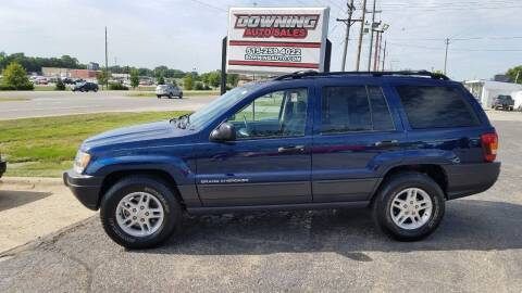 2003 Jeep Grand Cherokee for sale at Downing Auto Sales in Des Moines IA