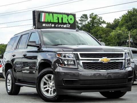 2015 Chevrolet Tahoe for sale at Metro Auto Credit in Smyrna GA