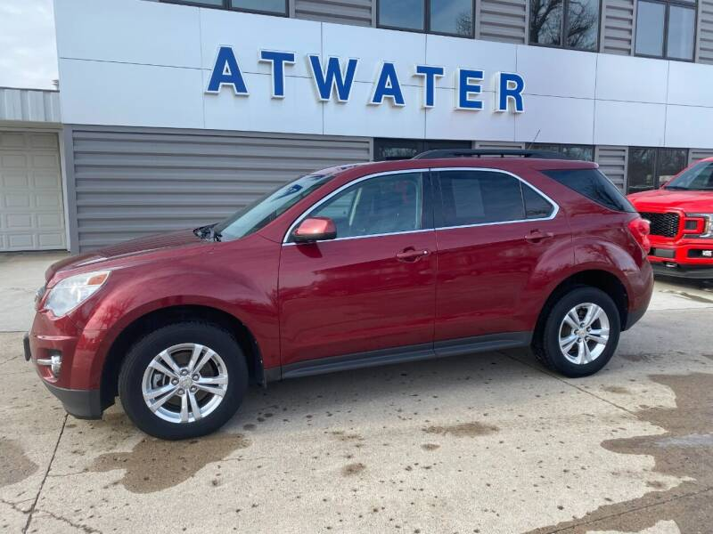 2012 Chevrolet Equinox for sale at Atwater Ford Inc in Atwater MN