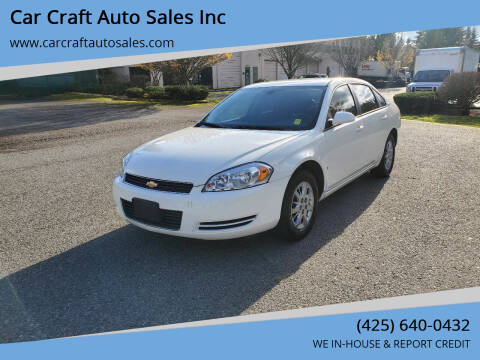 2008 Chevrolet Impala for sale at Car Craft Auto Sales Inc in Lynnwood WA