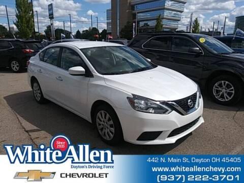 2018 Nissan Sentra for sale at WHITE-ALLEN CHEVROLET in Dayton OH