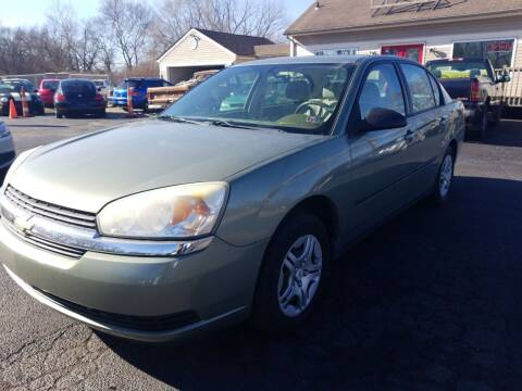 2005 Chevrolet Malibu for sale at Germantown Auto Sales in Carlisle OH