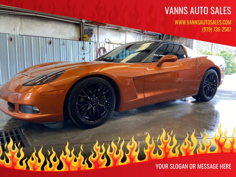 2007 Chevrolet Corvette for sale at Vanns Auto Sales in Goldsboro NC