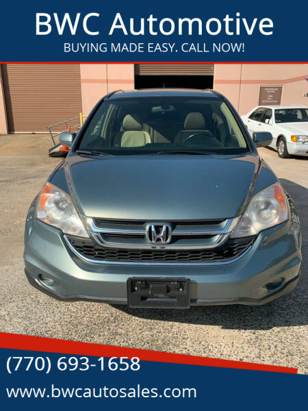 2010 Honda CR-V for sale at BWC Automotive in Kennesaw GA