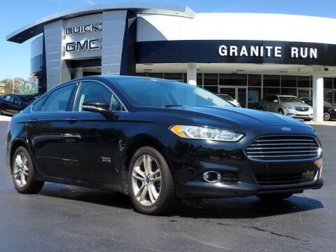 2016 Ford Fusion Energi for sale at GRANITE RUN PRE OWNED CAR AND TRUCK OUTLET in Media PA