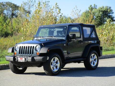 2007 Jeep Wrangler for sale at R & R AUTO SALES in Poughkeepsie NY