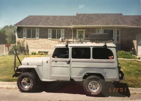 1963 Willys Wagon for sale at Classic Car Deals in Cadillac MI