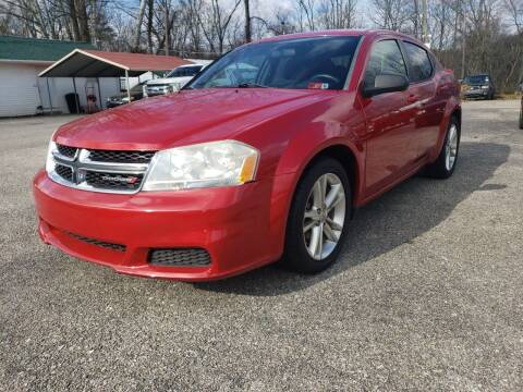 2012 Dodge Avenger for sale at Ona Used Auto Sales in Ona WV