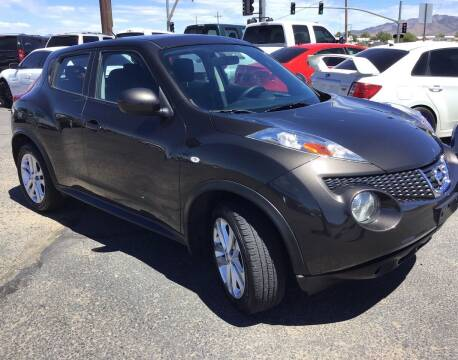 2012 Nissan JUKE for sale at SPEND-LESS AUTO in Kingman AZ
