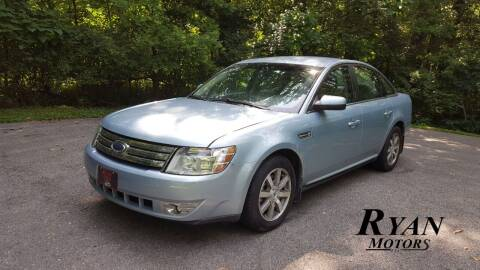 2008 Ford Taurus for sale at Ryan Motors LLC in Warsaw IN