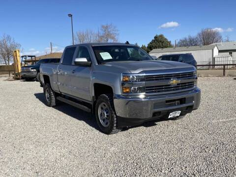 2017 Chevrolet Silverado 2500HD for sale at BERKENKOTTER MOTORS in Brighton CO