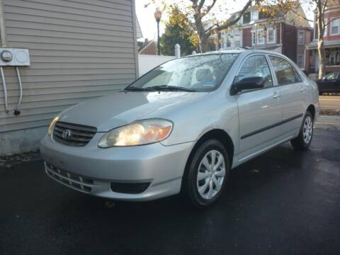 2003 Toyota Corolla for sale at Pinto Automotive Group in Trenton NJ