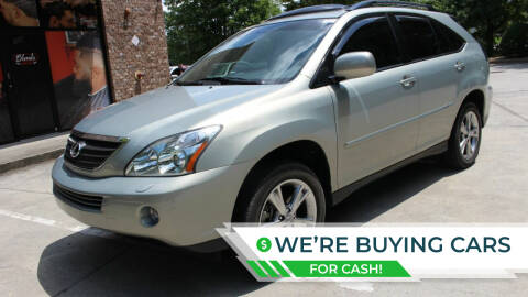 2007 Lexus RX 400h for sale at NORCROSS MOTORSPORTS in Norcross GA