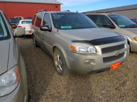 2007 Chevrolet Uplander for sale at Grey Goose Motors in Pierre SD