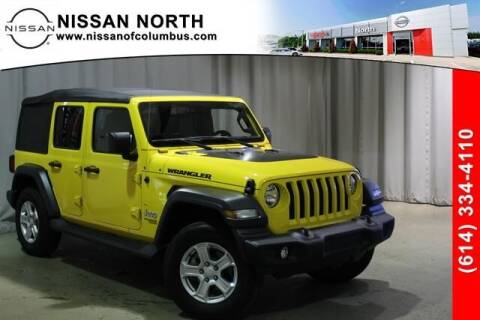 2019 Jeep Wrangler Unlimited for sale at Auto Center of Columbus in Columbus OH