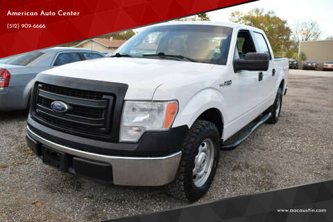 2014 Ford F-150 for sale at American Auto Center in Austin TX