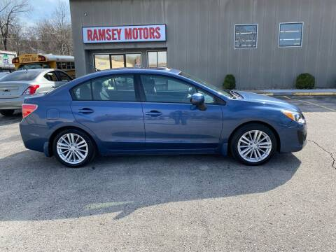 2012 Subaru Impreza for sale at Ramsey Motors in Riverside MO
