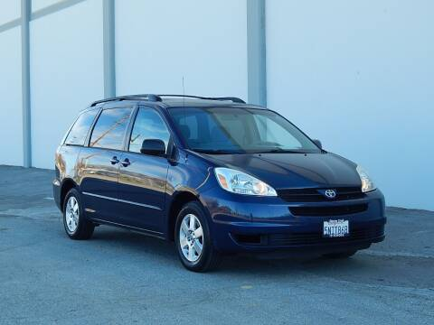 2005 Toyota Sienna for sale at Gilroy Motorsports in Gilroy CA