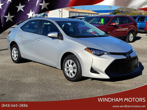 2017 Toyota Corolla for sale at Windham Motors in Florence SC