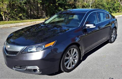 2014 Acura TL for sale at memar auto sales, inc. in Marietta GA