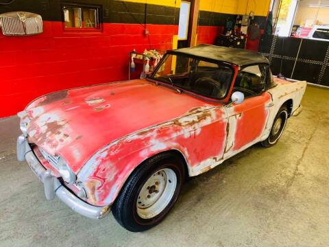 1963 Triumph TR6 for sale at Milford Automall Sales and Service in Bellingham MA