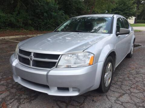 2010 Dodge Avenger for sale at Carpro Auto Sales in Chesapeake VA