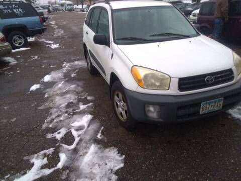 2001 Toyota RAV4 for sale at Continental Auto Sales in White Bear Lake MN