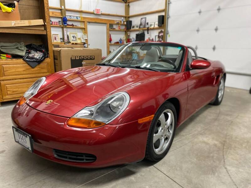 2001 Porsche Boxster for sale at Viewmont Auto Sales in Hickory NC