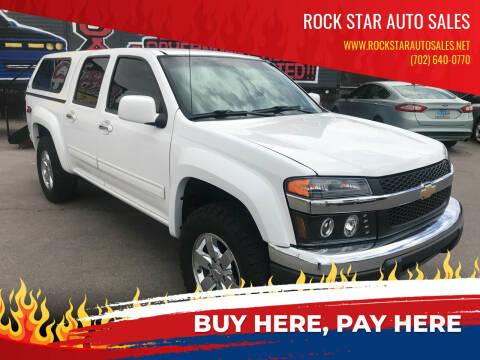 2012 Chevrolet Colorado for sale at Rock Star Auto Sales in Las Vegas NV