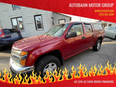 2006 GMC Canyon for sale at Autobahn Motor Group in Willow Grove PA