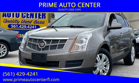 2012 Cadillac SRX for sale at PRIME AUTO CENTER in Palm Springs FL