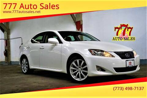 2007 Lexus IS 250 for sale at 777 Auto Sales in Bedford Park IL